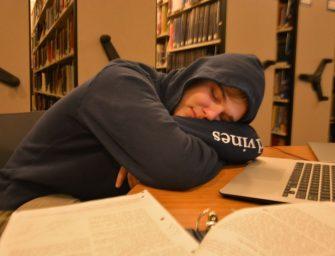 Students Struggle for Slumber