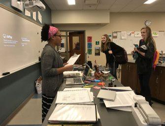Students Tackle Tough Classes