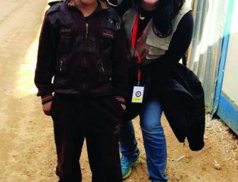 Zeena Lattouf Returns to Jordan to Help Syrian Refugees