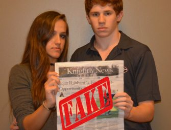 Knightly News Delivers Fake News