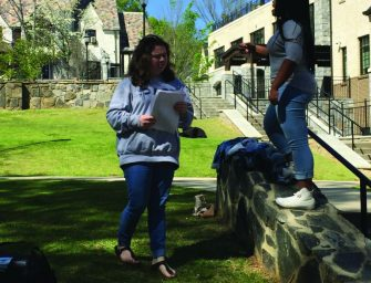 Pace Actors Prepare for 'Shakespeare on the Quad'