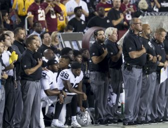 NFL Players, Coaches, Owners Display Unity During National Anthem