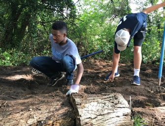 Freshmen Give Back to Community