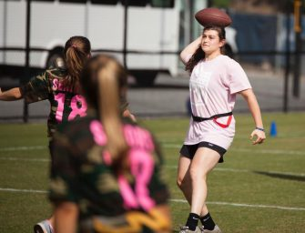 Juniors, Sophomores Victorious in Powder Puff Football