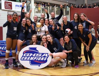 Pace Volleyball Wins State Championship