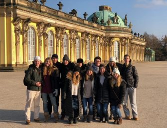 Students Kick Off New Year in Germany