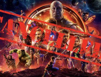'Avengers: Infinity War' Cancelled
