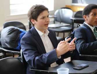 Pace Delegates Debate Policy at Tufts University