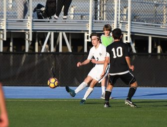 Varsity Boys Soccer Rebuilds in 2018 Season