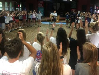 Class of 2019 Kicks off School Year with Retreat