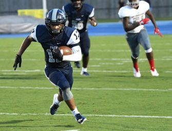 Freshman Football Players Excel on the Field
