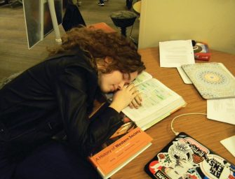Students Suffer from Lack of Sleep