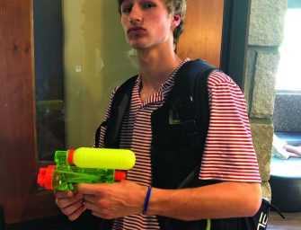 Senior 'Assassin Game' Arrives at Pace