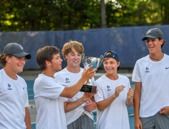 Boys Varsity Tennis State Champs!