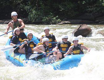 Seniors 'Raft In' to Final Year