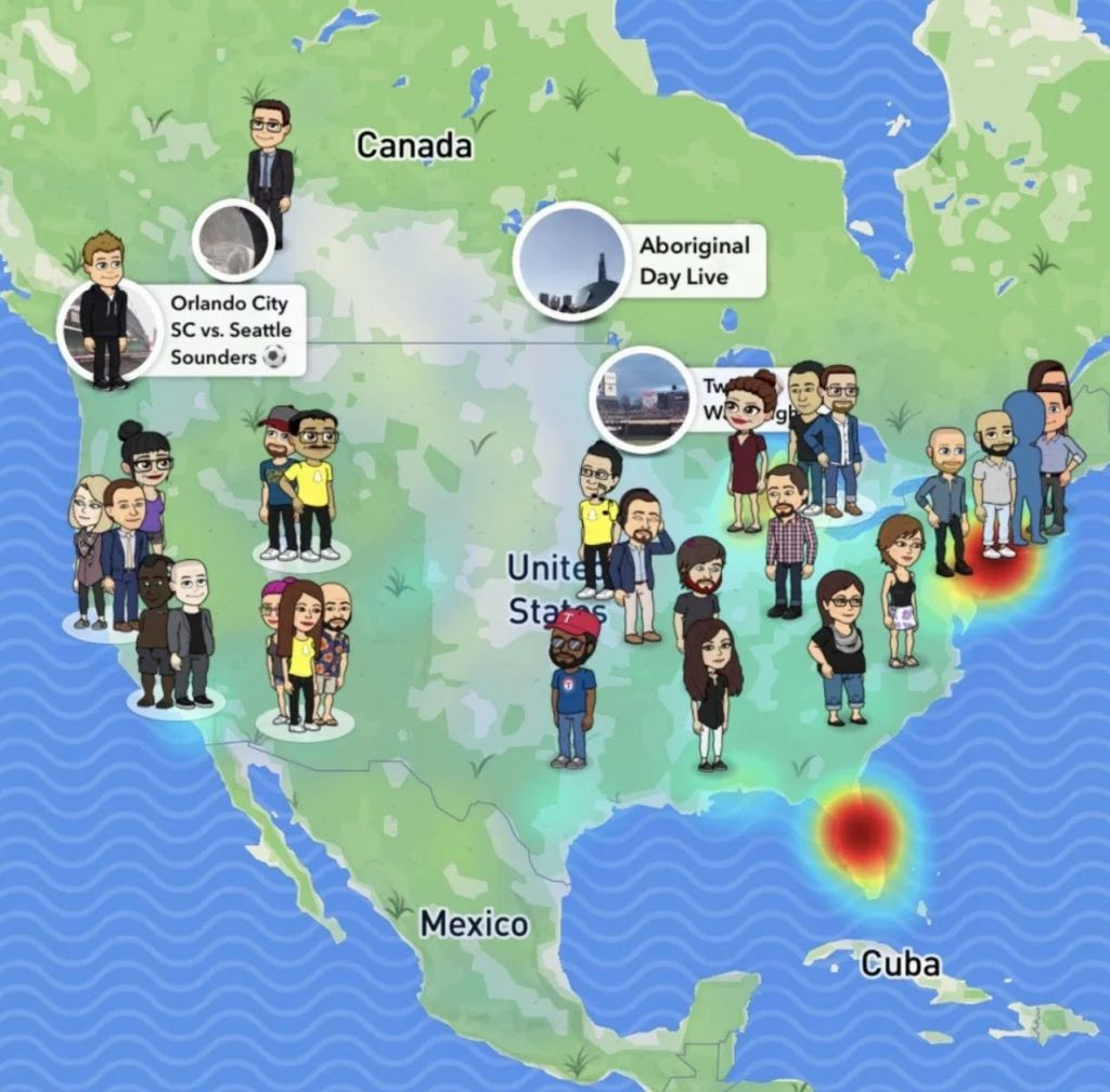 Map Snap Canada Snap Map Raises Concerns about Teen Privacy | The Knightly News