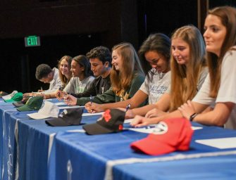 Student Athletes Commit to Next Level