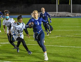 In Inaugural Season, Flag Football Wins Area