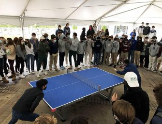 David Fu Bests Brother Michael in Inaugural Ping Pong Tournament