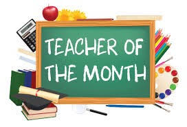 November Teacher of the Month